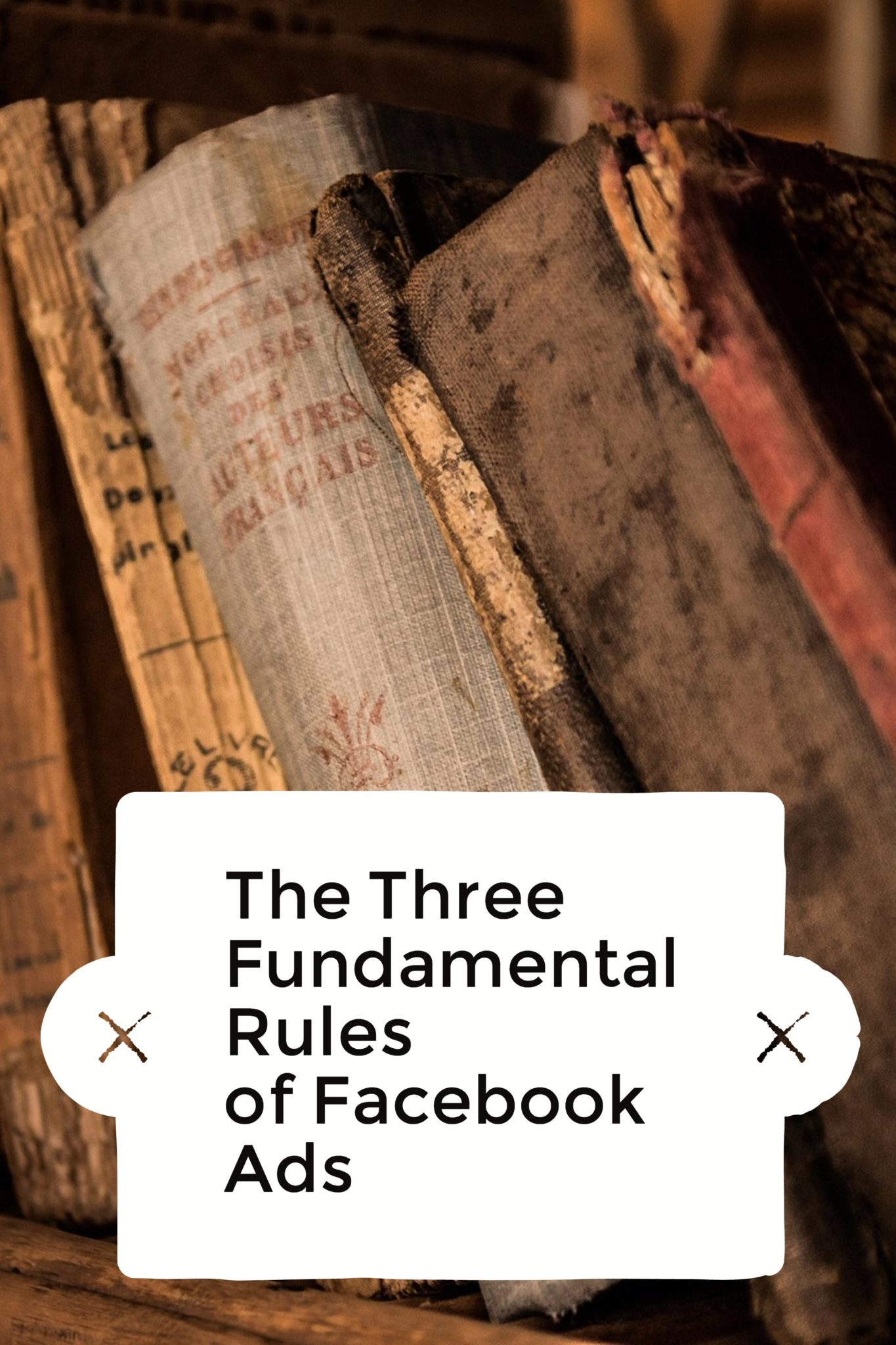 Facebook Ads are a great way to drive traffic and exposure to your brand. However, they won't work unless you know the three fundamental rules. Click here to learn more in my latest Facebook Ads tutorial!